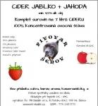 CIDER JABLKO + JAHODA 1kg