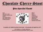 Chocolate cherry stout
