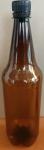 PET láhve použité 1ks   víčko