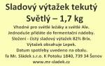 Sladový výtažek Světlý tekutý 1,7kg