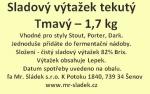 Sladový výtažek Tmavý tekutý 1,7kg