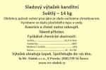 Sladový výtažek Světlý český tekutý kanditní 14 kg