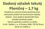 Sladový výtažek Pšeničný český tekutý  1,7kg